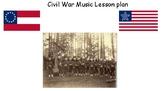 Civil War Music Lesson Plan