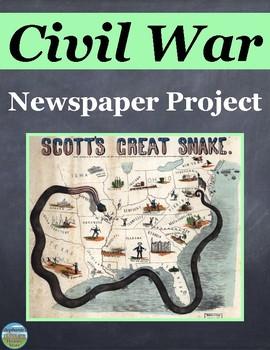 Civil War Newspaper Project