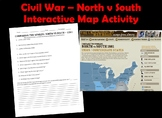 Civil War Webquest  North vs South - Comparing Two Worlds