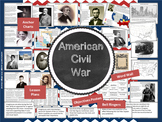 American Civil War Notebook, Bulletin Board Set, and More!