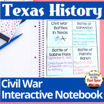 Civil War in Texas Notebook Kit