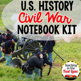 Civil War Notebook Kit {U.S. History}