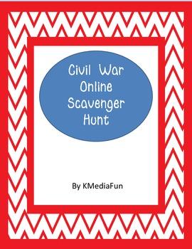 Civil War Online Scavenger Hunt by KMediaFun