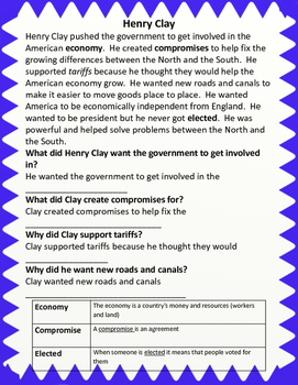 Civil War Packet for US History