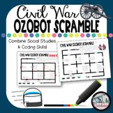 Civil War Ozobot Scramble