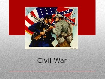 Civil War PPT Presentation