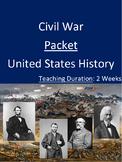 Civil War Packet - Two Weeks!