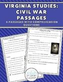Civil War Passages & Questions VS.7 {Digital & PDF Included}