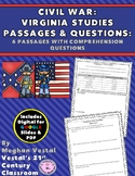 Civil War Passages & Questions VS.7 {Digital & PDF Included}