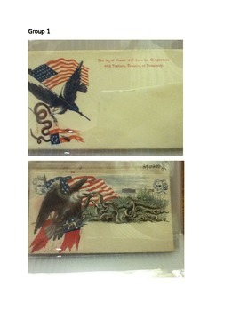 Civil War Patriotic Envelope Lesson