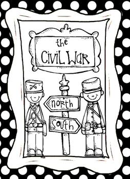 Civil War People Graphic Organizers and MIni Biographies Worksheets