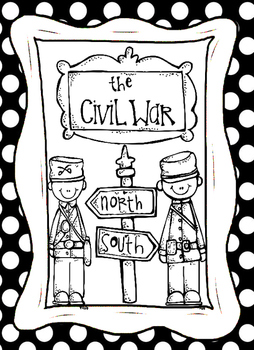 Civil War People Graphic Organizers and MIni Biographies W