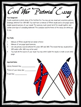 Civil War Pictorial Essay