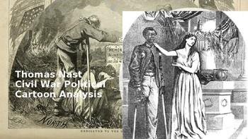 Civil War Political Cartoon Analysis Lesson