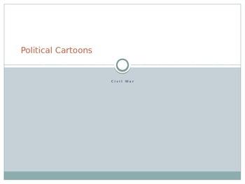 Civil War Political Cartoon Examination