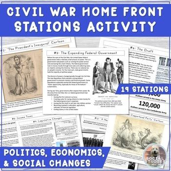 Civil War Politics STATIONS: Draft Riots, Greenbacks, Emancipation Proc., etc!