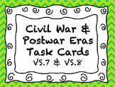 Civil War & Post War Era Task Cards