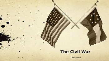 Civil War PowerPoint - APUSH New Curriculum Framework - Period 5