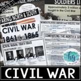 Civil War PowerPoint & Guided Notes (Print and Digital)