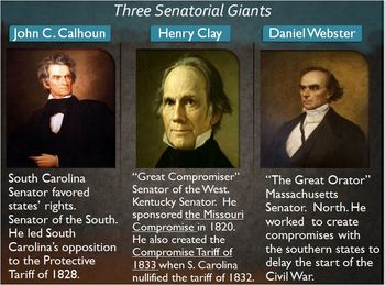 Civil War PowerPoint Lesson 1:Tension between North & South, Compromise, Tariffs