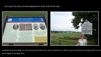 Antietam also Featuring Clara Barton-Civil War PowerPoint Series
