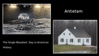 Civil War PowerPoint Series-Battle of Antietam also Featur
