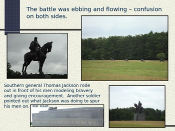 Bull Run Manassas-First Major Battle-Civil War PowerPoint Series