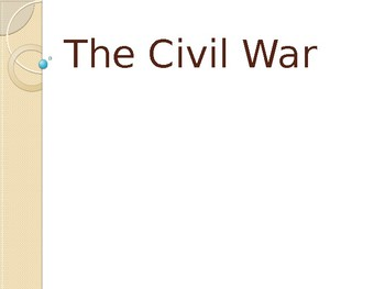 Civil War Powerpoint