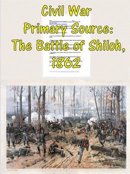 Civil War Primary Source: The Battle of Shiloh, 1862