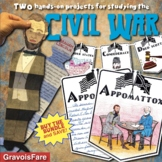 Civil War Projects, Activities, and Bulletin Board (Big Galoots and ABC Banners)