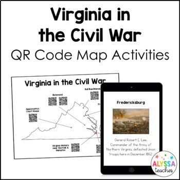 Virginia in the Civil War Map Activities (VS.7)