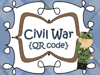 Civil War and Reconstruction {QR code}