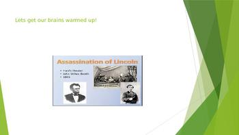 Civil War Quiz PowerPoint