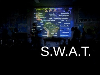 Civil War REVIEW GAME - SWAT answers as questions appear on the board! (25 Qs)
