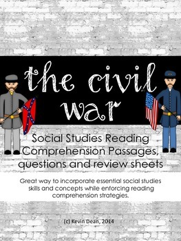 Civil War Reading Packet