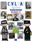 Civil War Passages Differentiated Leveled Texts Bundle