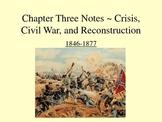 Civil War & Reconstruction