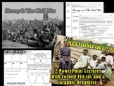 Slavery-Civil War & Reconstruction PowerPoint Bundle