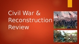 Civil War & Reconstruction Powerpoint (Goes with Review)