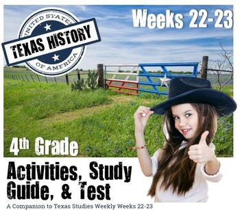 Civil War/ Reconstruction/ Slavery- Use with Texas Studies Weekly 22-23