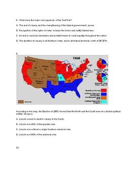 Civil War - Reconstruction Test