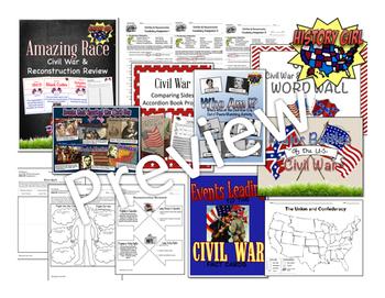 Civil War & Reconstruction Unit Bundle