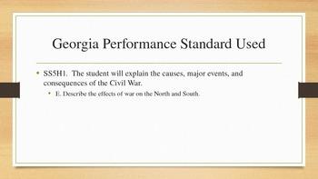 Civil War Reconstruction Unit Lesson 3