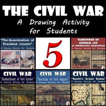 Civil War - Recreating Five Famous Paintings from the Civil War