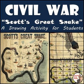 "Civil War - Recreating ""Scott's Great Snake"" - Anaconda Plan"