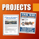Civil War - Resource Bundle (Projects, PPT's, Assignments,