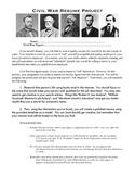 Civil War Resume Project