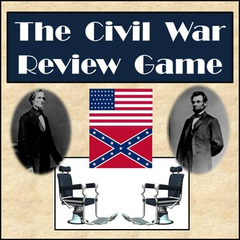 Civil War Review Game - Partner Activity in Front of Class - Game Show Style