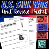 Civil War Review Packet