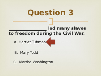 Civil War Review Powerpoint